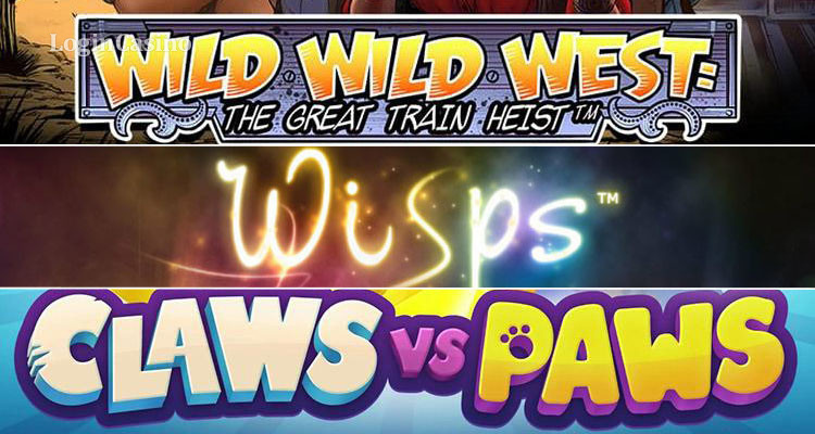Обзор игровых автоматов Wild Wild West: The Great Train Heist Slot, Wisps и Сlaws vs. Paws