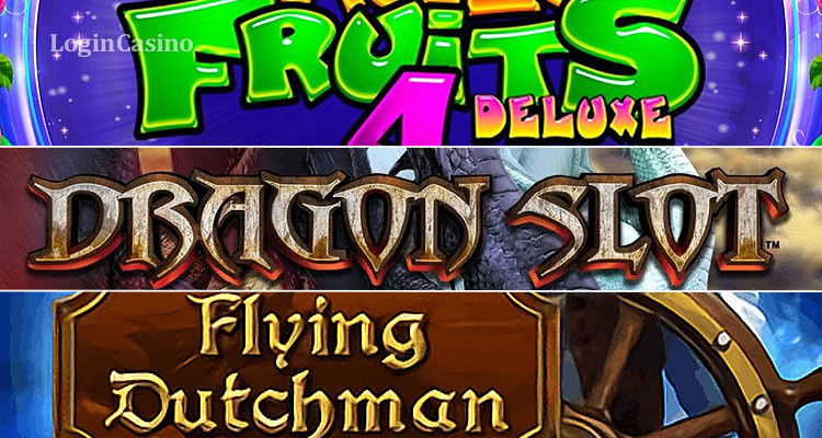 Сравнительный обзор слотов Magic Fruits 4 Deluxe, Flying Dutchman и Dragon Slot Jackpot