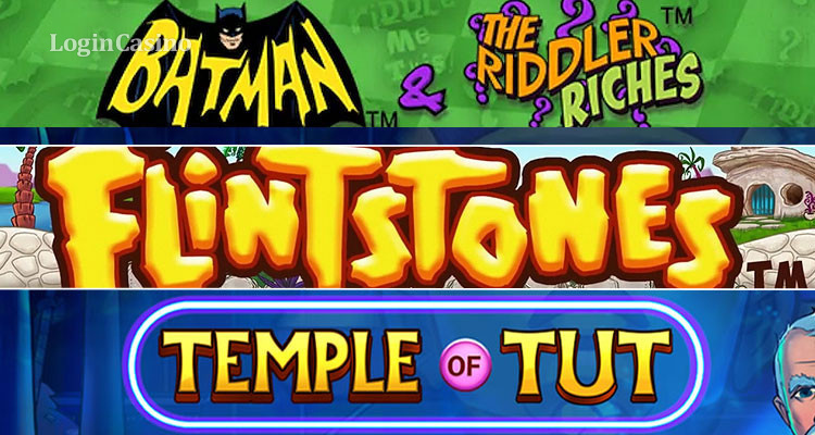 Сравнительный обзор слотов Batman & The Riddler Riches, Temple of Tut и The Flintstones