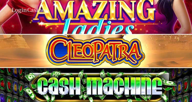 Обзор игр Amazing Ladies, Cleopatra и Cash Machine